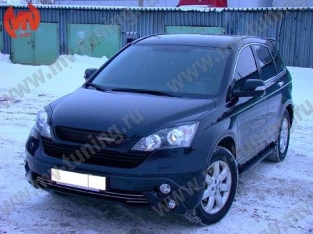 АБС-пластик Реснички на фары Н.CR-V 2007-2011